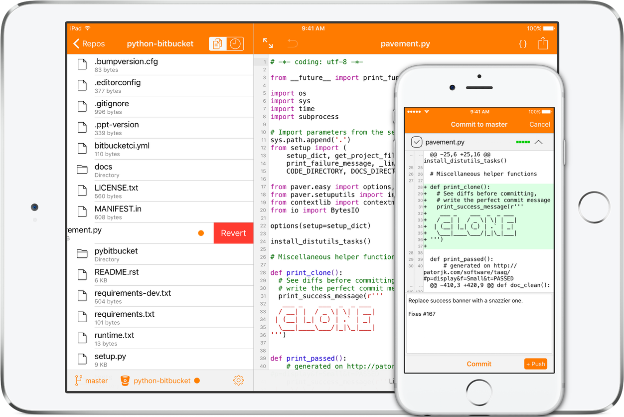 Clone: advanced Git client for iOS